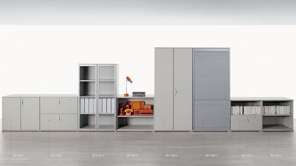 Modular box citterio office collezioni arredamenti for Citterio arredamenti